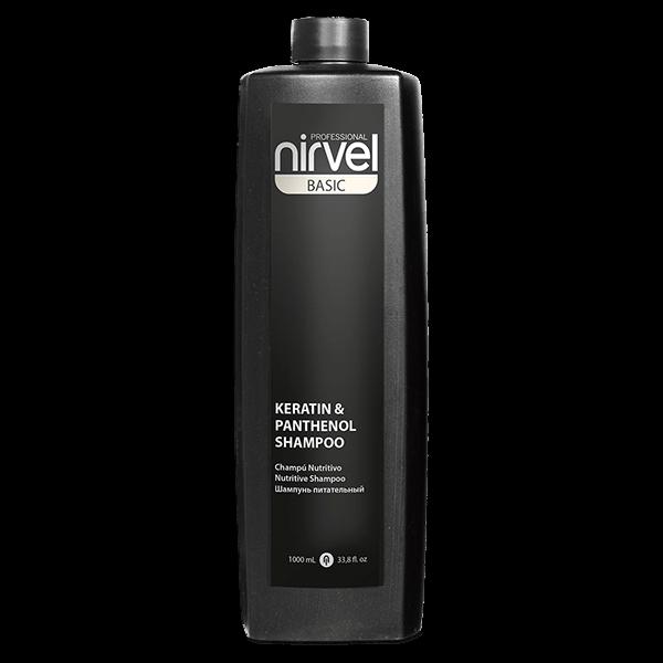 Keratin Panthenol Shampoo Nirvel 1000 ml